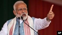 د هند وزیراعظم، نریندر مودي