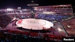 9일 강원도 평창 올림픽스타디움에서 2018 평창동계올림픽 개막식이 열렸다.