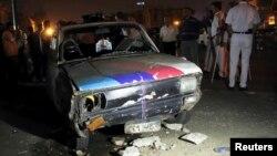 지난 15일 이집트 카이로에서 발생한 차량 폭탄 테러. (자료사진)