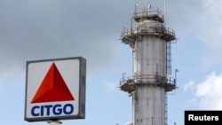 La refinería Citgo Petroleum, filial de PDVSA en EE.UU., se muestra en Sulphur, Louisiana, el 12 de junio de 2018.
