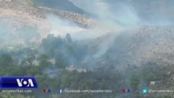 Vatrat e zjarreve mbeten aktive në Gjirokastër dhe në Vlorë