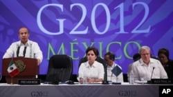 Лос-Кабос, Мексика, саммит G20 февраль 2012 года.