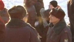 В Новосибирске скандируют: «Россия без Путина!»