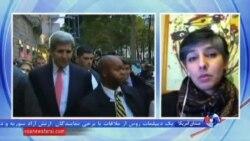 دیدار دوجانبه کری و ظریف در آستانه نشست سوریه در وین