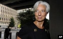 La Française Christine Lagarde, la nouvelle directrice générale du FMI