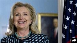 힐러리 클린턴 미 국무장관. (자료 사진)