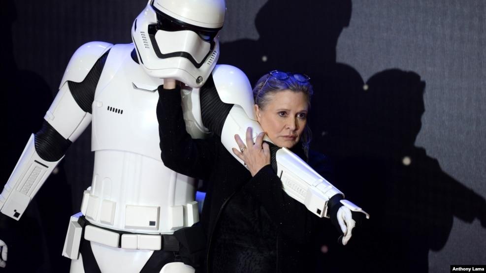 Tư liệu - Cố diễn viên Carrie Fisher.