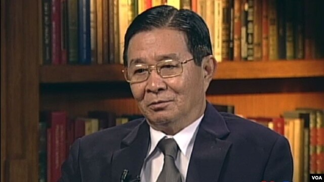 VOA interviews U Aung Min, September 20, 2012