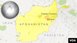 Parwan Province, Afghanistan.