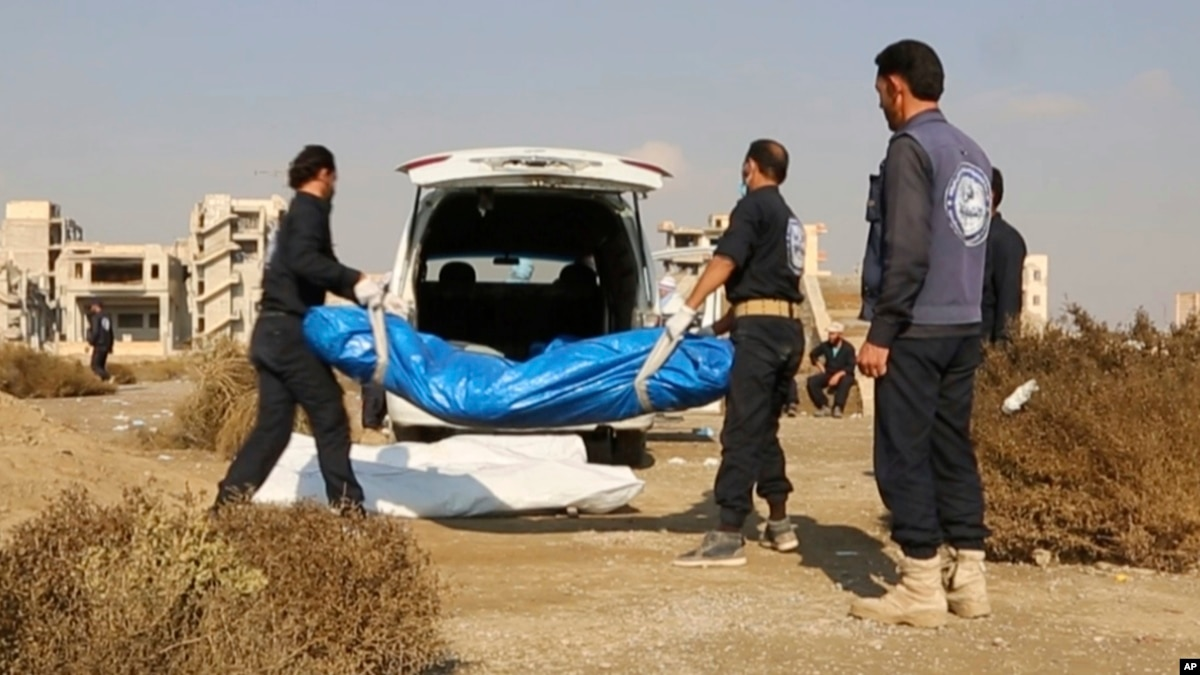 Mass Graves Highlight Challenges in Post-IS Raqqa