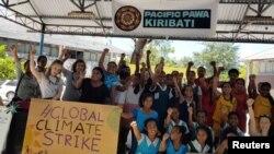 Protesti na pacifičkim ostrvima