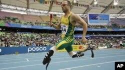 Vận động viên Nam Phi Oscar Pistorius
