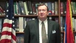 ՀՀ-ում ԱՄՆ դեսպան Ռիչարդ Միլսի շնորհավորանքը «Ամերիկայի Ձայն»-ի Հայկական ծառայության 65-ամյակի կապակցությամբ