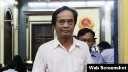 Ông Đoàn Ánh Sáng, nguyên Phó Tổng Giám đốc BIDV. Photo VOH