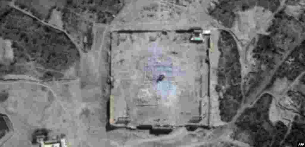 Birleşmiş Milletler tarafından yayınlanan uydu fotoğrafları Bel Tapınağı'nın yıkıldığını doğruluyor.