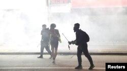 تظاهرات در هنگ کنگ - ۱۱ آبان ۱۳۹۸