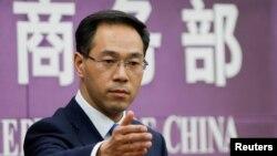 中国商务部发言人高峰(资料照)