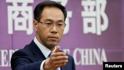 가오펑 중국 상무부 대변인.