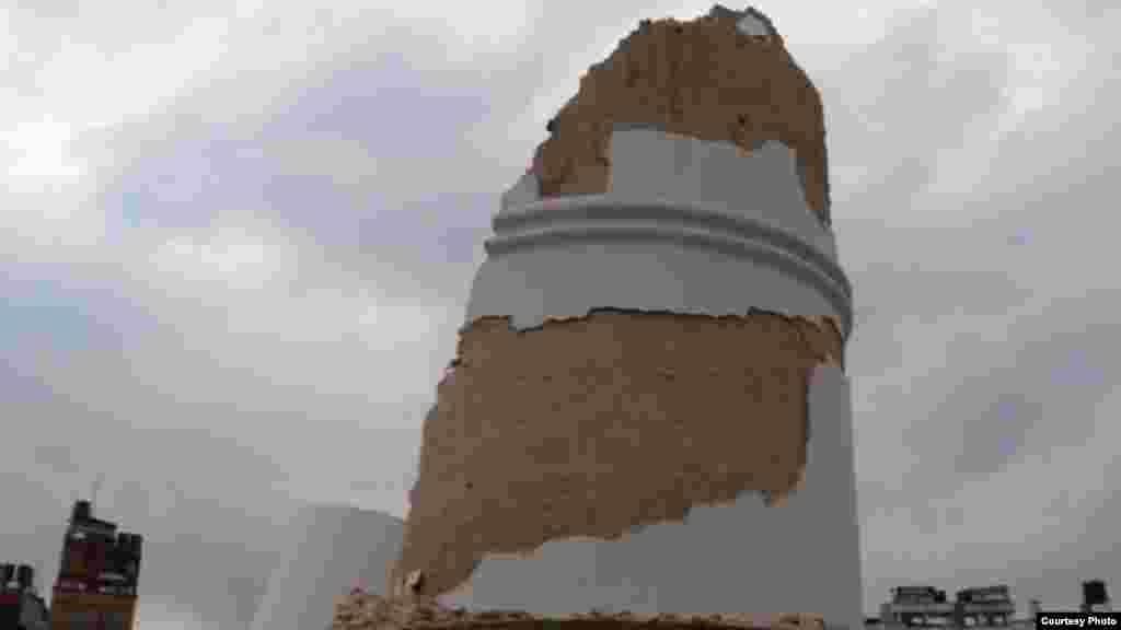 被毁的比姆森塔
