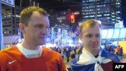 Дмитрий Белянов и Александр Бурковский