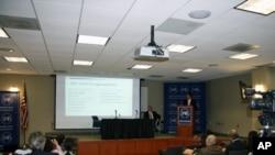 吴钊燮在约翰霍布金斯大学高等国际研究所谈两岸政策