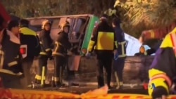 2017-02-14 美國之音視頻新聞: 台灣旅遊車發生嚴重車禍33人喪生