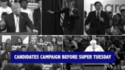 Frontrunners Appeal to Voters Before Super Tuesday