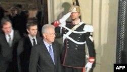 Kryeministri i ri i Italisë Monti paraqiti programin e qeverisë me masa shtrënguese