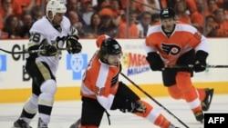 Матч между Philadelphia Flyers и Pittsburgh Penguins