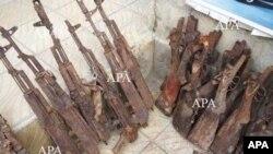 Bakıda külli miqdarda silah-sursat tapılıb