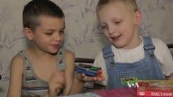 Volunteers in Ukraine Help Children Displaced by Violence