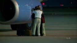 American Detained in North Korea Returns Home