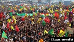 Geçen yıl Diyarbakır'daki Nevruz kutlamaları