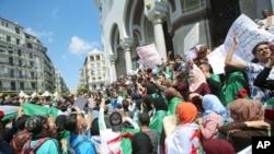 تظاهرات الجزایری ها علیه نخبگان حاکم - آرشیو