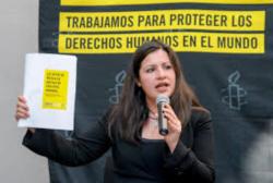 Erika Guevara Rosas dialoga sobre la tortura en México
