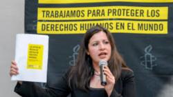 Erika Guevara Rosas dialoga sobre el informe de Amnistía Internacional sobre LATAM