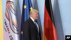 Anúncio foi feito por Trump em Hamburgo