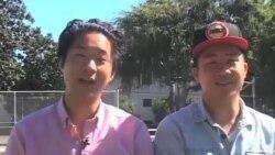 美华裔笑星兄弟鼓励亚太裔参加投票