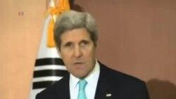 وزير امور خارجه آمريکا در کره جنوبی
