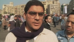 Video footage from Tahrir Square in Cairo, Egypt