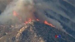 加州北部發生森林大火