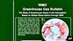 Report Says Greenhouse Gases Reach Record Levels
