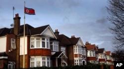 올해 3회째를 맞는 유럽 북한자유주간 행사가 오는 7일 런던주재 북한대사관 앞에서 개막식을 가진다. 영국 런던 주재 북한대사관 건물. (자료사진)