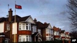영국 런던 주재 북한대사관 건물. (자료사진)