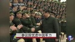 美参院忧虑中国军力
