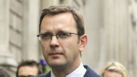 FILE - Andy Coulson, former editor of the News of the World and former spokesman for Britian's Prime Minister David Cameron.