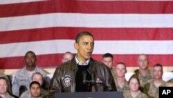 غیر اعلانیہ دورہ: افغانستان کو دہشتگردوں کی پناہ گاہ نہیں بننے دیا جائے گا، اوباما