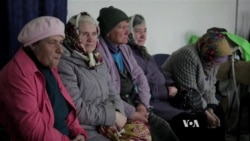 Ukrainian Town Cut Off By Military Struggles to Survive