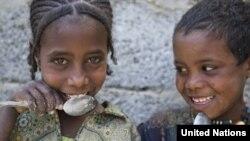 The World Food Program hopes to reduce hunger among schoolchildren.