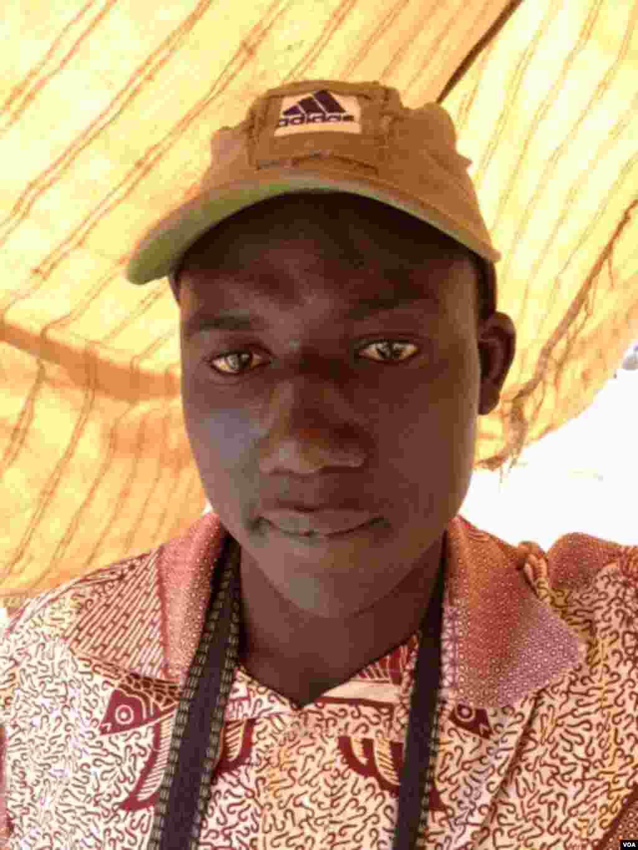 Ampute Souleymane Traore visage